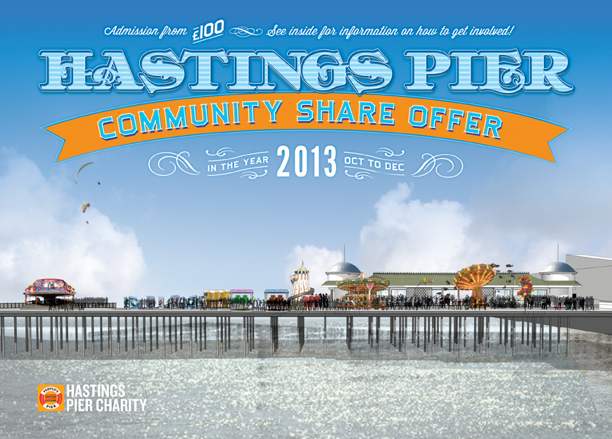 Community shares in new Hastings Pier