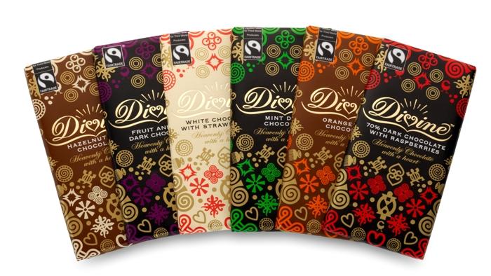 New Chocolate Bars from Divine Belgium Chocolates Brands